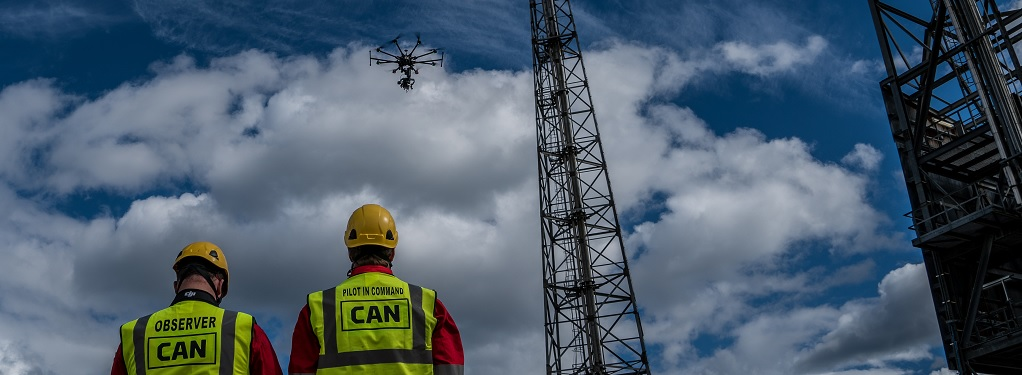 CANGroup flying - UAV Inspection Services